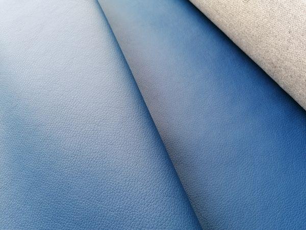 Petrolkék textilbőr KA22
