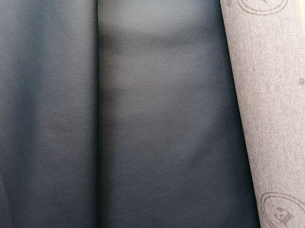Sötétkék textilbőr KA11