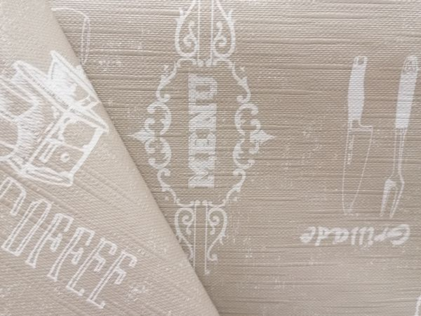 Feliratos asztalterítő IRAT01
