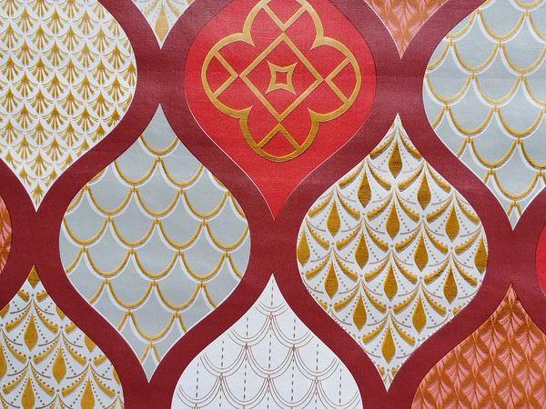 Piros Bottigelli asztalterítő BOPI01