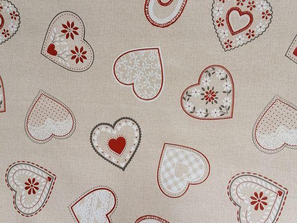 Szívecskés asztalterítő HEART01